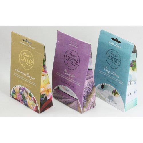 9 Sachets of Scented Hanging Fragrance Freshener Wardrobe Car Multipack