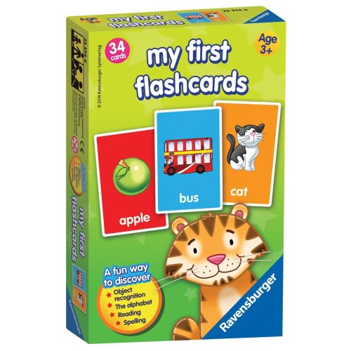 Ravensburger My First Flash Card Learn New Words Dictionary Game