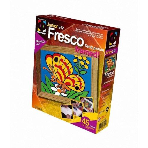 Elf407003 - Fantazer - Fresco Sand Picture - Butterfly