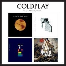 Coldplay - 4 CD Catalogue Set | CD Album Box Set