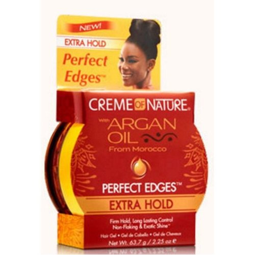 Crème of Nature Moroccan Argan Oil Perfect Edges Extra Hold 63g