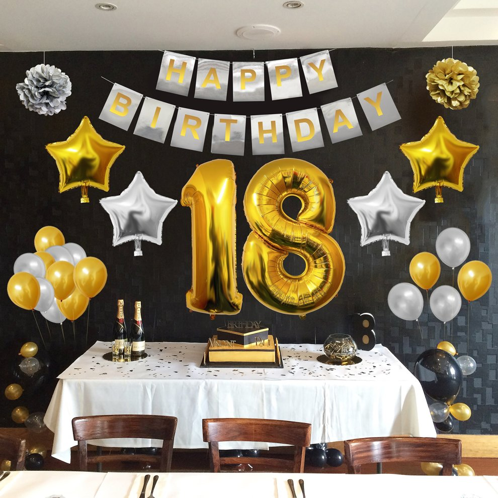 BELLE VOUS 18 Birthday Decorations