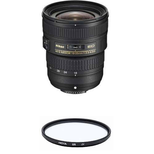 NIKON AF-S 18-35MM F3.5-4.5G ED + HOYA UX UV 77mm Filter