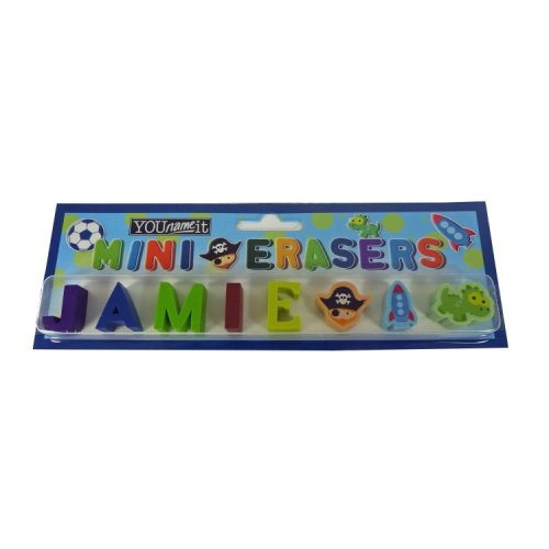 Childrens Mini Erasers - Jamie