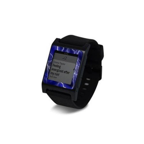 DecalGirl PW2SE-APOC-BLU Pebble 2 SE Smart Watch Skin - Apocalypse Blue