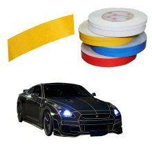 Motorcycle Car Automotive Reflective Tape Car Vehicle Reflective Decals Yellow
