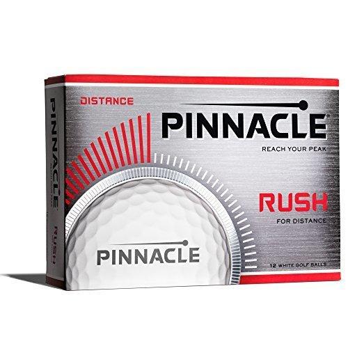 Pinnacle Rush Golf Balls White One Dozen