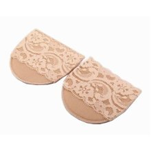 3 Pairs Forefoot Pads High-heeled Shoes Insoles Cushions Lace