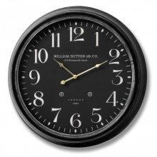 William Sutton and Co. Large Wall Clock 62cm Diameter Simplistic Decor