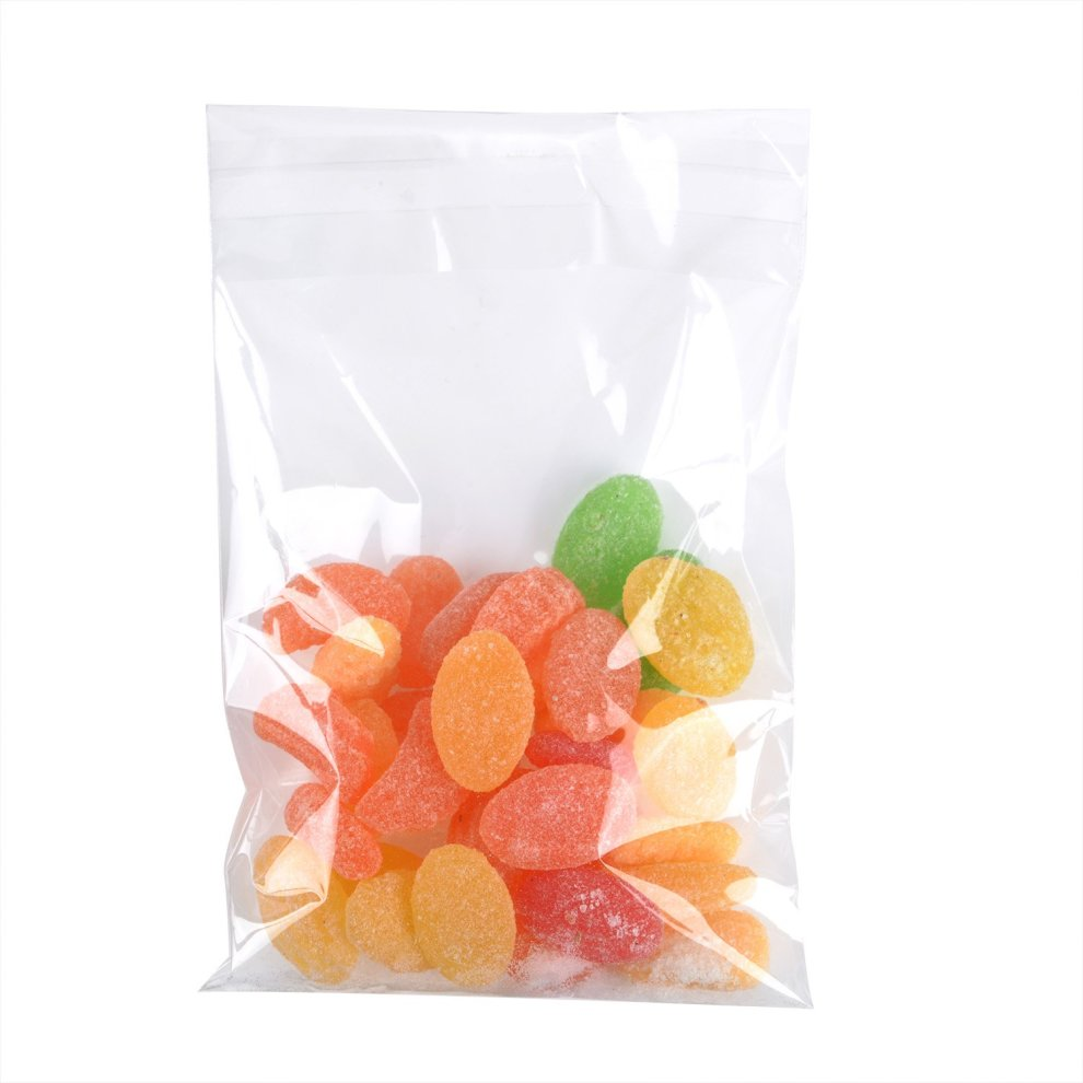Valentine Chocolates Cookie Soap 3 x 5 Inches 300 Pieces Clear Cellophane Bags Self-adhesive Sealing Treat Bags OPP Plastic Bag for Candy