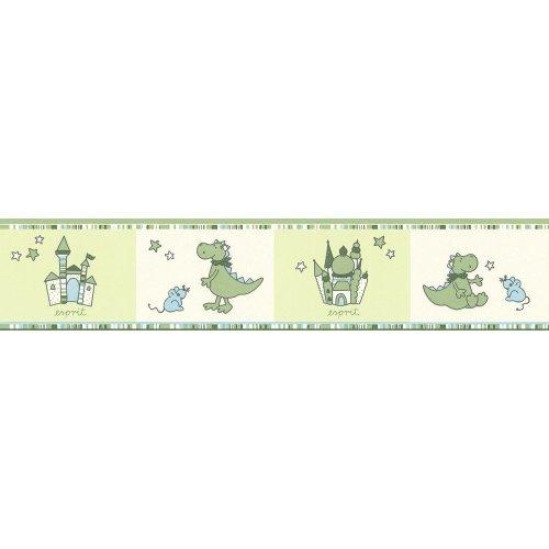 A.S. Creation 1091-18 Esprit Kids 5 Paper Border, Multi-Colour, 5,00m x 0,13m