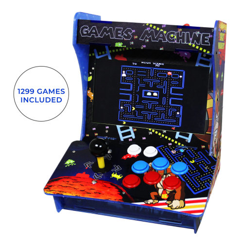 Arcade Machine Table Bartop Retro Assembled Gaming Cabinet 1299 Games