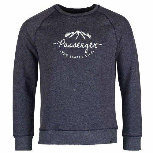 Passenger Misty Morning Navy Sweater