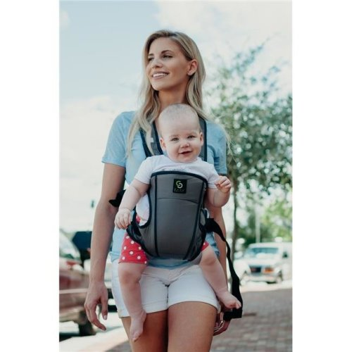 Cozy Cover 25004C 4-1 Convertible Baby Carrier, Grey