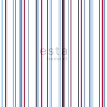wallpaper stripes red and blue - 116511