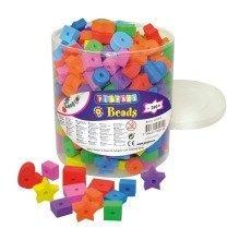 Pbx2470936 - Playbox - Foam Beads (assorted ) - 290 Pcs