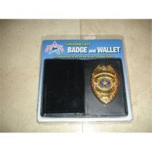 PS Products CWPB Concealed Carry Badge & Wallet