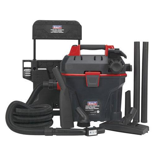 Sealey GV180WM 1500W Wall Mounting Garage Vacuum with Remote Control