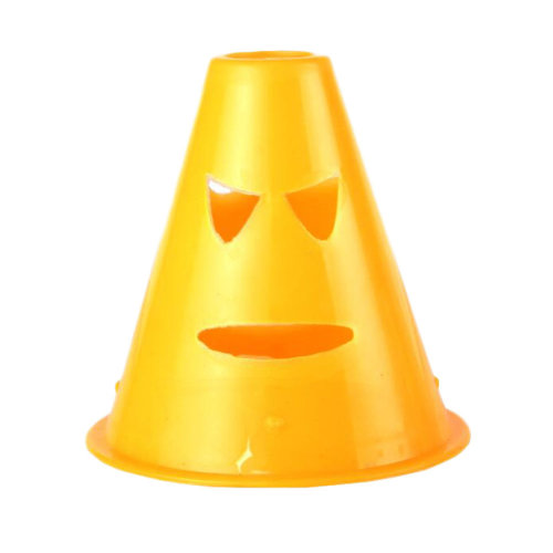 10Pcs Slalom Cones Skating Cone Traffic/ Training Cones/ Markers/ Barrier-Orange