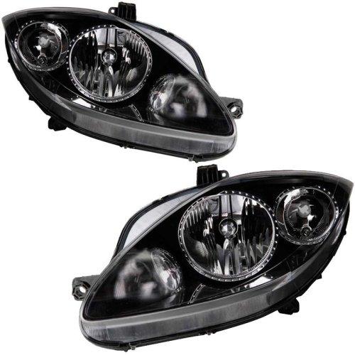 Seat Leon Mk2 9/2005-7/2007 Headlights Headlamps 1 Pair O/s & N/s