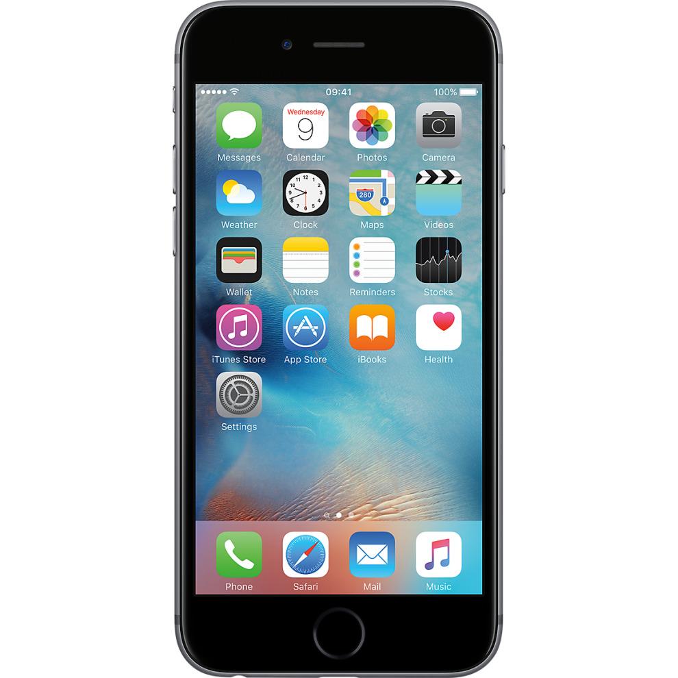 Tesco Mobile, 64GB Apple iPhone 6s Space Grey