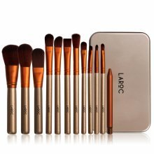 LaRoc 12pc Brush Set in Metal Tin