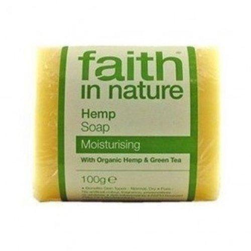 Faith In Nature - Hemp & Lemongrass Pure Soap 100g