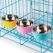Pet Bowl Suspension Fixed Dog Cat Drink Pots