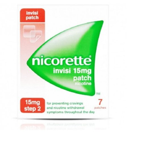 Nicorette Invisi Patch 15mg Step 2 - 7 Patches