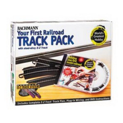 Bachmann Trains Snap Fit E Z Track Steel Alloy World s Greatest Hobby Track Pack