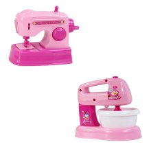 Children 's Creative Appliances Develop Life Knowledge Model Toys,Sewing&Mixer