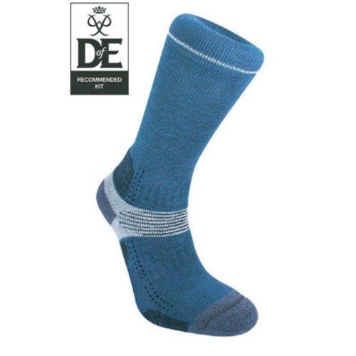 Bridgedale Womens Woolfusion Trekker Socks (Blue Sky Medium UK 5 - 6.5)