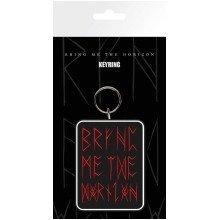 Bring Me the Horizon Logo Red Keyring