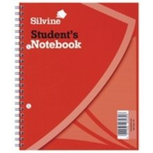 Silvine 9x7 Inch Twin Wire Exercise Book 60 Sheets - Pack Of 12 -  silvine spiral 60 139 bound book 9x7 inches leaf ruled feint pack 12