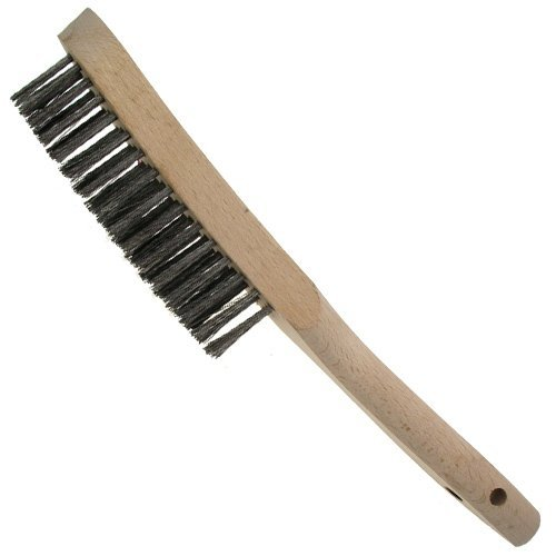 RST RST5804S Wire Scratch Brush 4 Row With Scraper