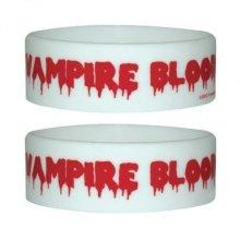 Vampire Blood Rubber Wristband - 65mm Diameter X 25mm High -