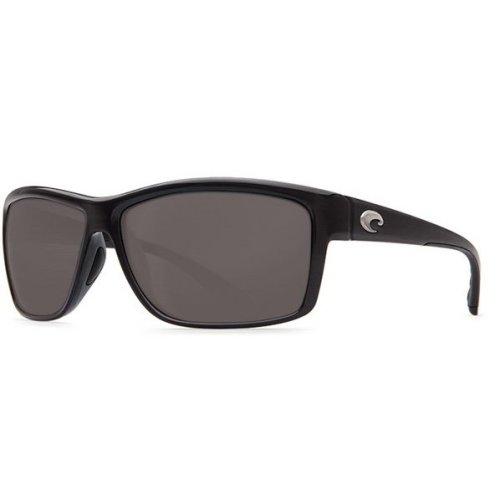 Costa Del Mar Mag Bay Polarized Shiny Black Sunglasses - AA-11-OGP