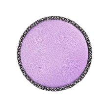 Simple Round Stool Cushion Comfortable Chair Pads, Light Purple