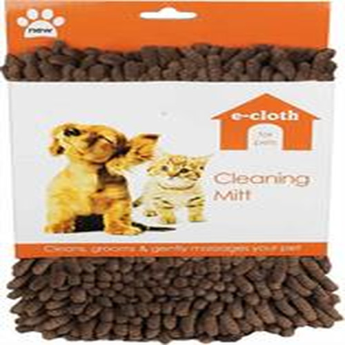 E-cloth Pet Cleaning Mitt