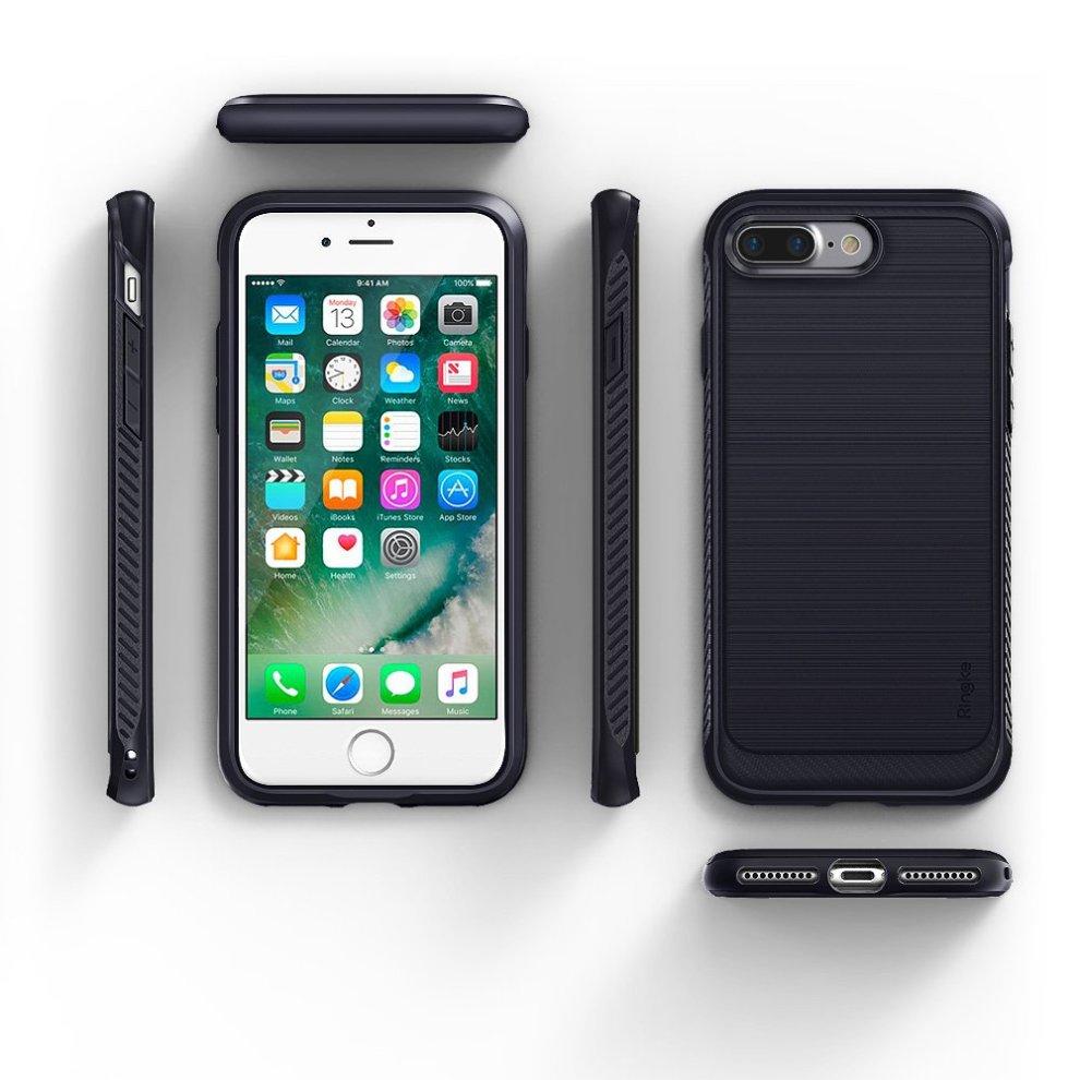 super popular 908d9 9c142 iPhone 7 Plus / iPhone 8 Plus Case, Ringke [ONYX] [Resilient Strength]  Flexible Durability, Durable Anti-Slip, TPU Defensive Case for Apple  iPhone...