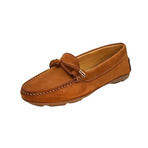 Hush Puppies Tan Slip on Toggle Shoe