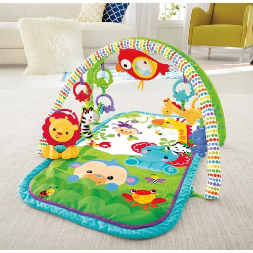 Fisher-Price 3-in-1 Musical Activity Gym Motor Skills, Cognitive Development