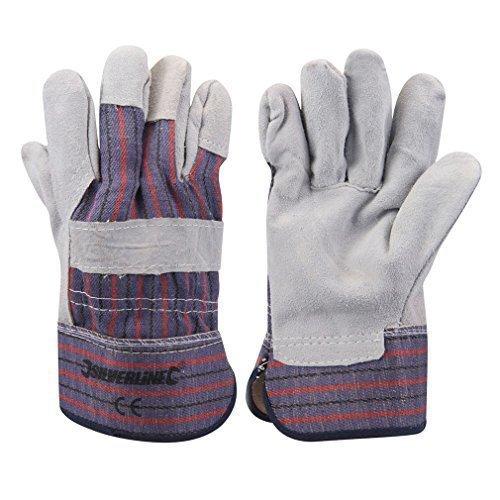 Silverline Expert Rigger Gloves Large