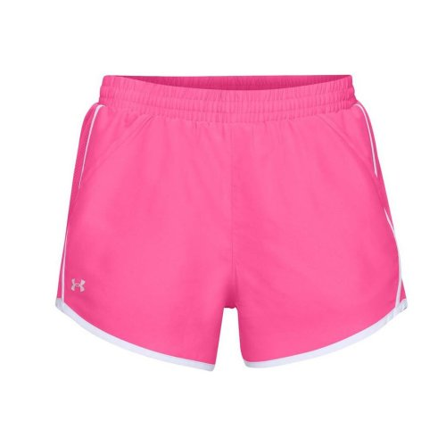 Under Armour Fly By Short 3'' 1297125-641 Womens Pink shorts