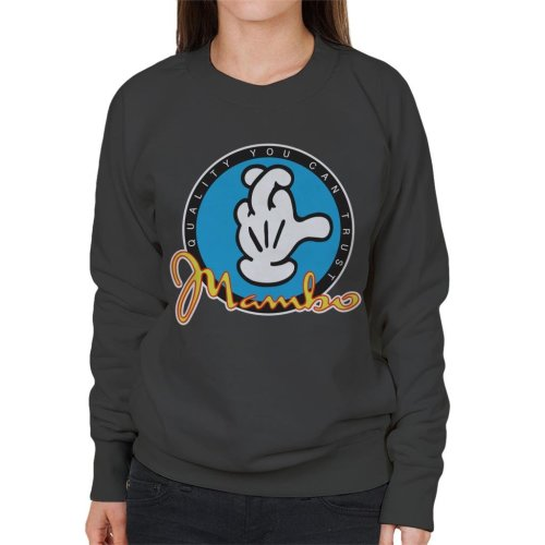 Mambo Quality You Can Trust Glove Logo Women's Sweatshirt