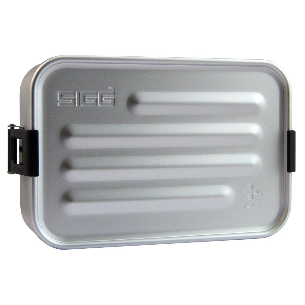 SIGG Plus S Aluminium Box$Silver, Small