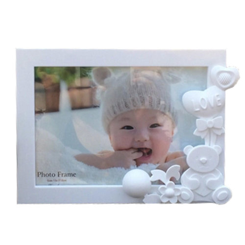 Lovely Bear Baby&Kids Picture Frame Photo Frames Plastic Frames,White