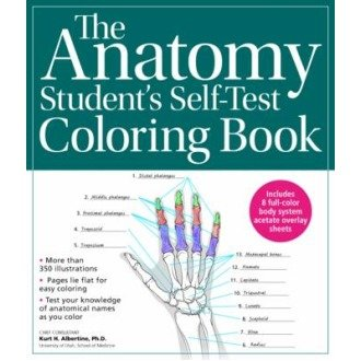 The Anatomy Student S Self Test Colouring Book On Onbuy