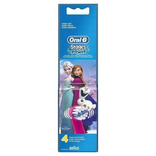 Oral-B Frozen Refill heads x 4 refills