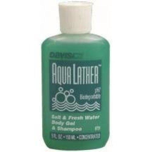 Aqua Lather Body & Shampoo Wash - 5ozs